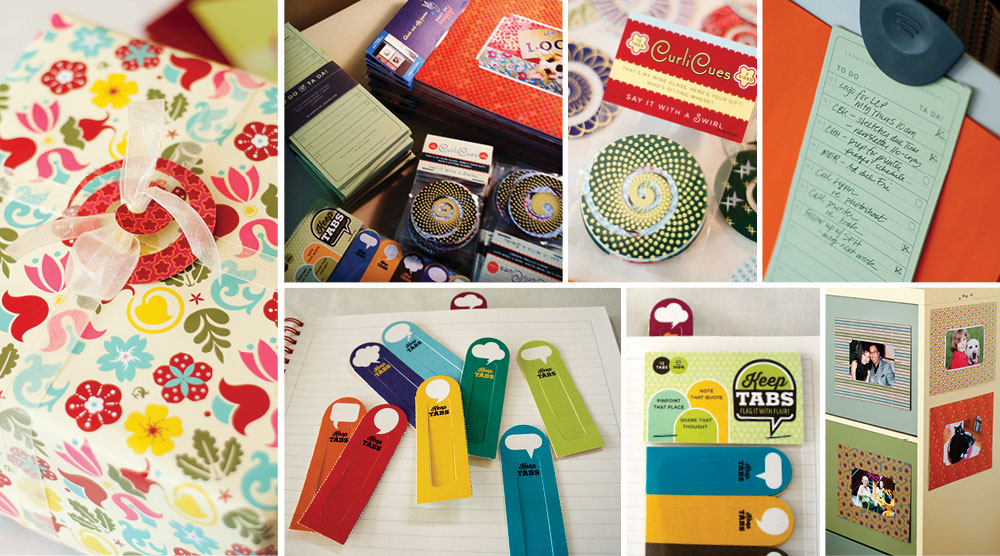 EnZed Design products and stationery