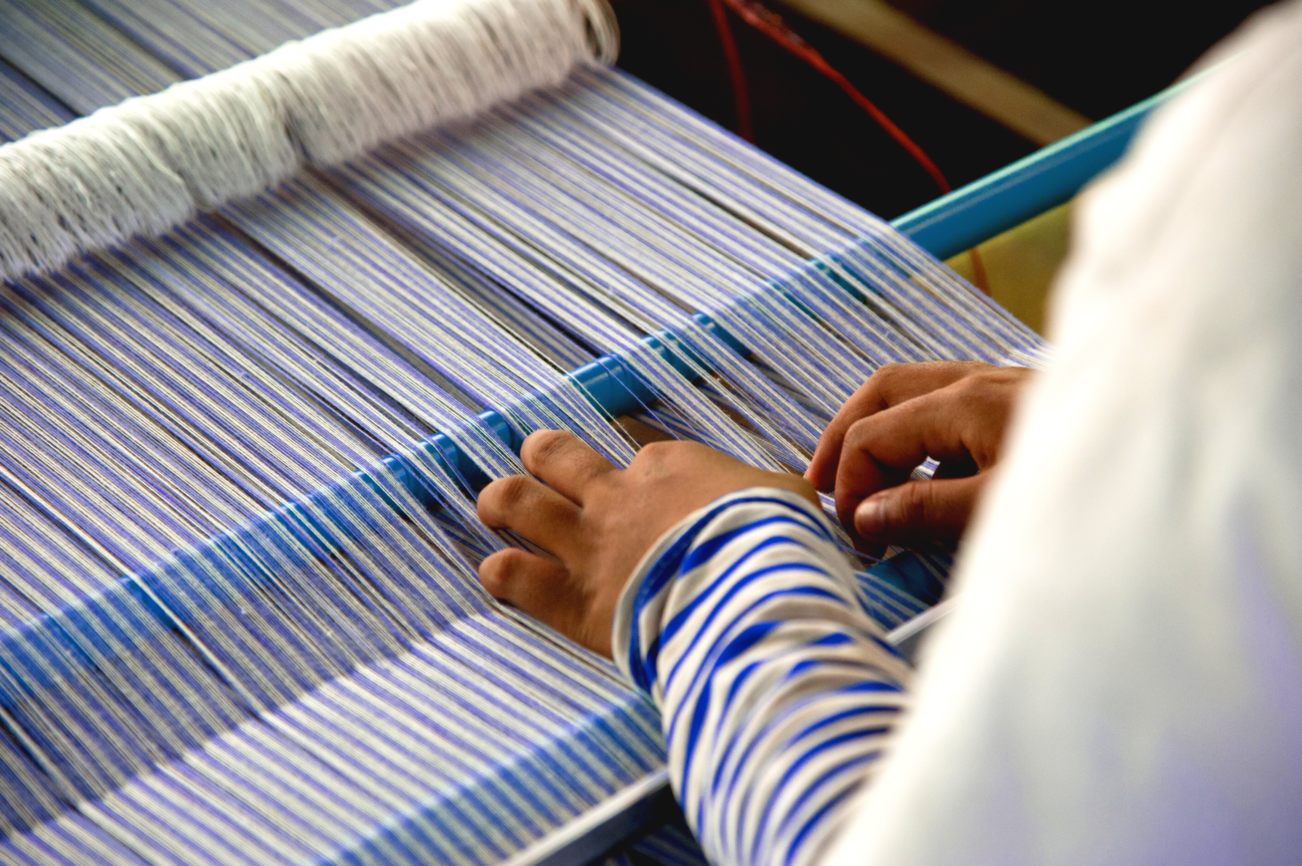 Making silk cloth