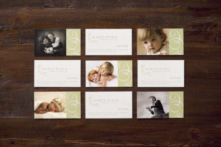 Karen Rubin Photography business cards