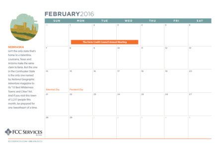 FCC Services calendar 2016 flat
