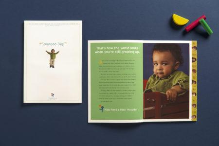 Children's Hospital Annual Report spread