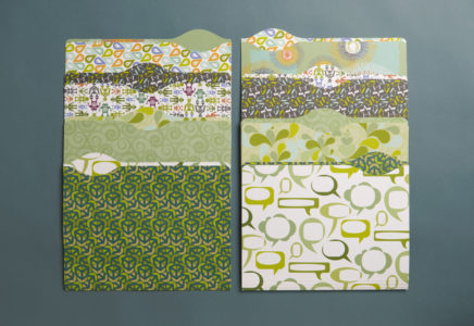 Frederic Printing Green Promotion folders