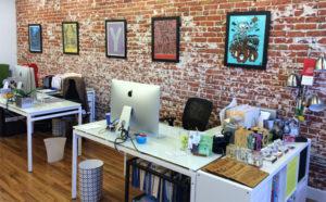 EnZed Design studio space (Furniture Creative Coworking)