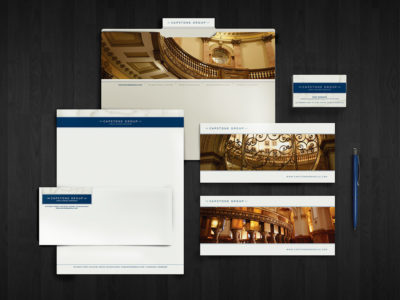 Capstone Group stationery (project thumbnail)