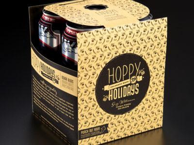 Frederic Printing Hoppy Holidays yellow box (project thumbnail)