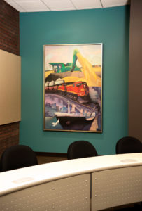 CoBank Lecture Hall industry painting