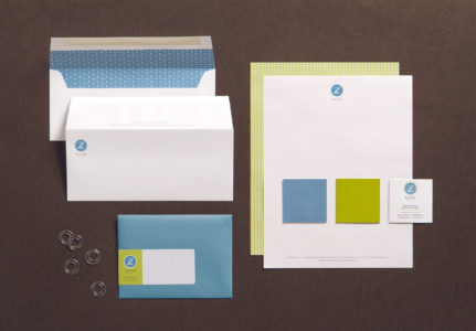 EnZed Stationery letterhead and envelopes