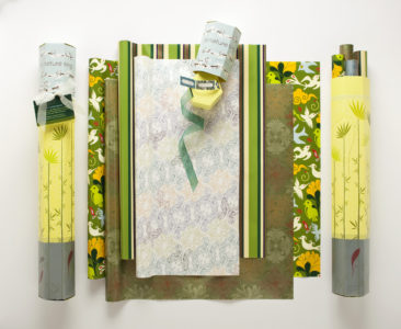 Frederic Printing gift wrap spread