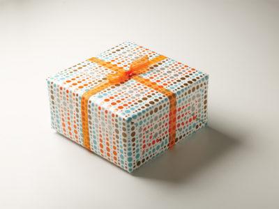 Frederic Printing dot pattern gift wrap