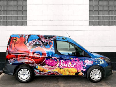 Sprint Octopus Truck side