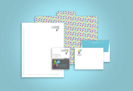 LiveWell Colorado stationery