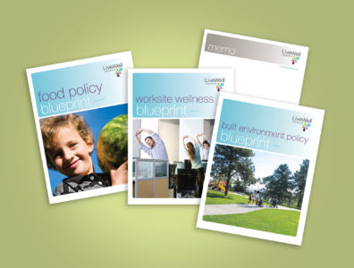 LiveWell Colorado policy publications