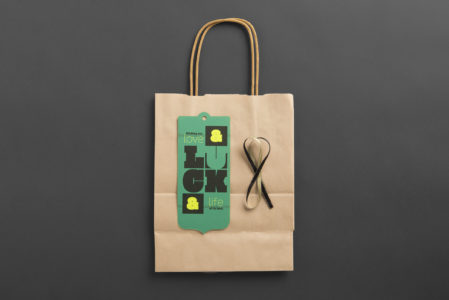 Frederic Printing Lucky 13 paper bag