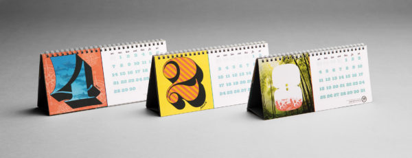 Frederic Printing Lucky 13 desk calendars