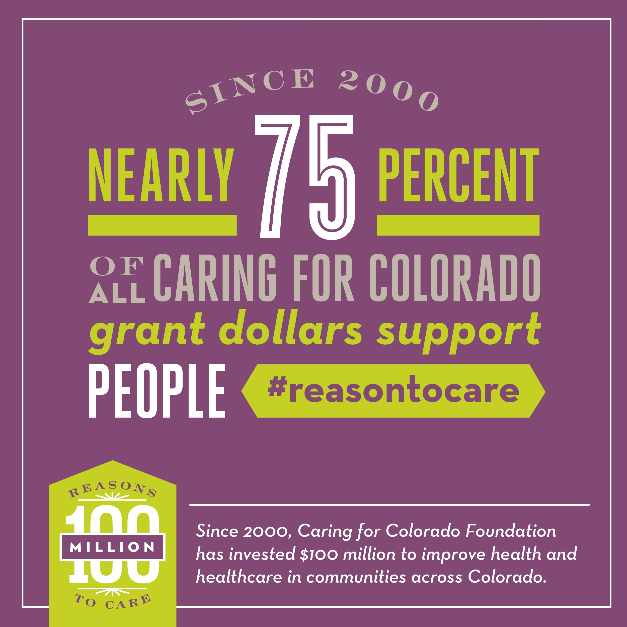 Caring for Colorado infographic