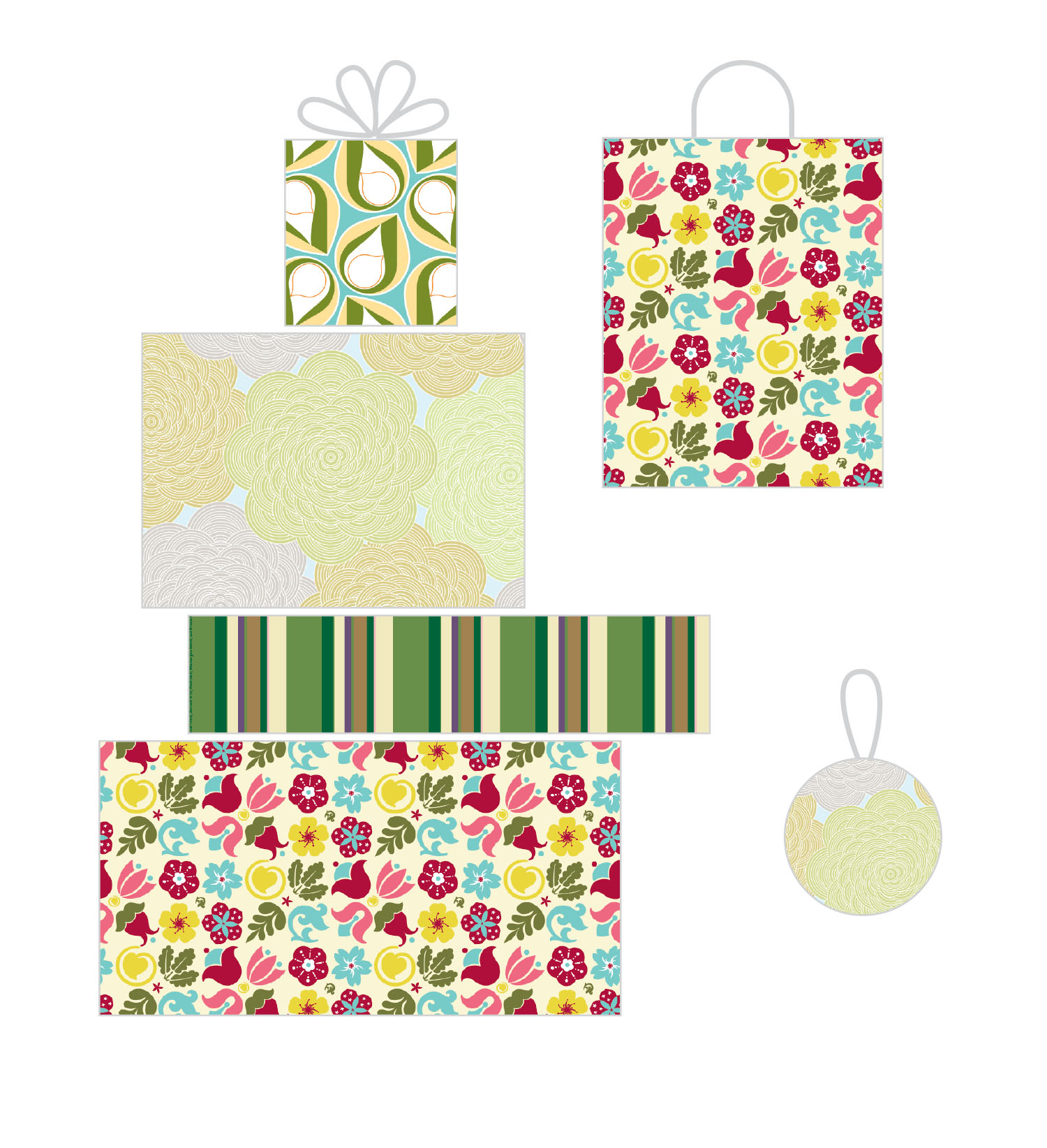 EnZed Licensing - Her Garden Grows Collection for Wrap
